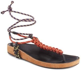 Isabel Marant Loreco Lace-Up Sandal
