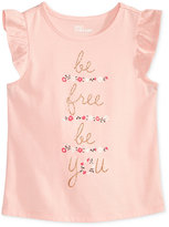 Epic Threads Mix and Match Be Free, Be You Graphic-Print T-Shirt, Toddler & Little Girls (2T-6X), Only at Macy's