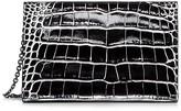 Calvin Klein Alligator Zip Clutch