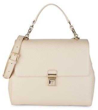 Furla Joann Pebbled Leather Top Handle Bag