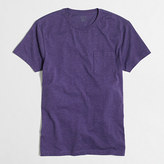 J.Crew Factory Slim heathered washed pocket T-shirt