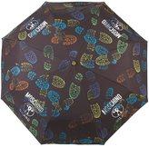 Moschino boot print mini umbrella