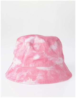 Miss Shop Pink Tie Dye Bucket Summer Hats
