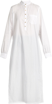 Wales Bonner Sterling Dashiki cotton-poplin tunic