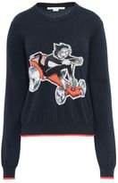 Stella McCartney crew neck the dandy print sweater