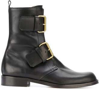 Michel Vivien Buckled Boots