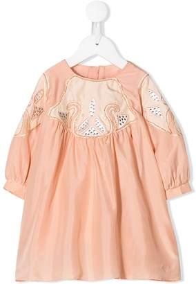 Chloé Kids embellished occasion dress