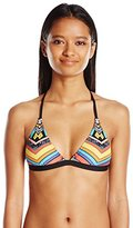 Rip Curl Women's Tribal Myth Cross-Back Fixed-Cup Bikini Top