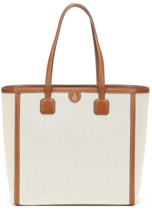Mark Cross Antibes canvas tote