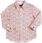 Simonetta Cherry Printed Cotton Poplin Shirt