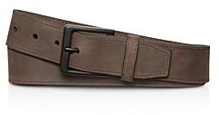 Shinola Nubuck Leather Utility Belt