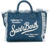 Mc2 Saint Barth Kids denim 'Colette' beach bag