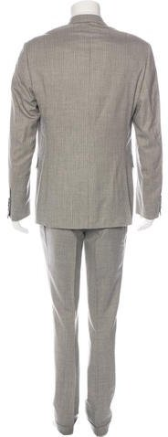Thom Browne Three-Button Striped Suit