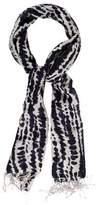 Tory Burch Wool & Silk Tie-Dye Scarf