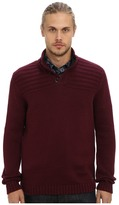 Ted Baker Harston Stitch Detail L/S Funnel Neck