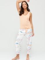 Very Woven/Jersey Pyjama Set - Cloud Print