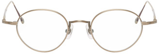 Matsuda Gold 10189H Glasses