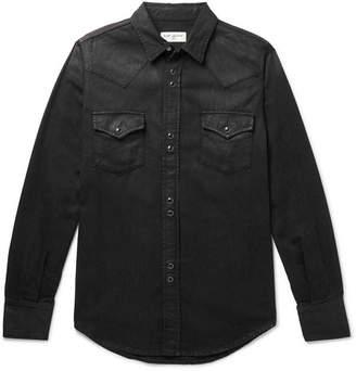 Saint Laurent Slim-Fit Denim Western Shirt