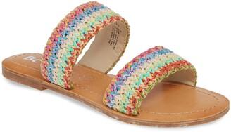BC Footwear Vegan Woven Strap Sandal