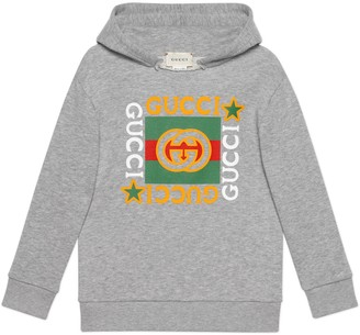 Gucci Children's logo print sweatshirt
