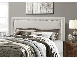 Andover Mills Aisling Upholstered Panel Headboard Size: Twin, Upholstery: Beige
