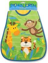 Stephen Joseph Wipeable Infant and Toddler Bib (Monkey)
