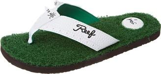 Reef Men's Sandals Mulligan II | Golf Inspired Flip Flops for Men