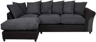 Argos Home Harry Large Left Corner Fabric Sofa