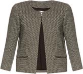 Raey Textured-weave eagle jacket