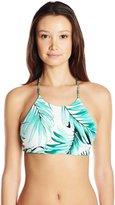 Body Glove Women's Tropi-Cal Reversible Elena Halter Bikini Top