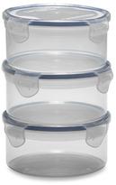 Bed Bath & Beyond Lock & Lock® Round Storage Containers (Set of 3)