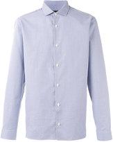 Z Zegna checked shirt - men - Cotton - 40
