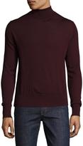 Jil Sander Men's Wool Solid Turtleneck Sweater