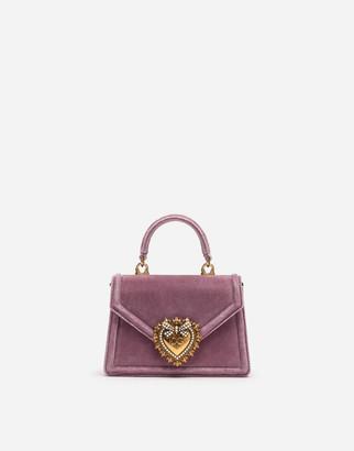 Dolce & Gabbana Small Velvet Devotion Bag