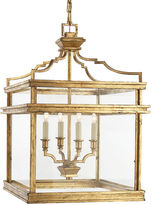 Visual Comfort & Co. Mykonos Medium Lantern, Gilded Iron