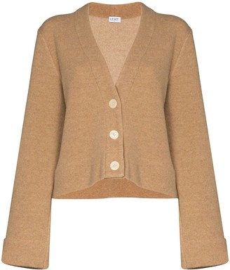 Leset Button-Up Knitted Cardigan