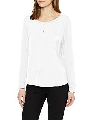 S'Oliver Women's .001.31.6029 Long Sleeve Top,(Size: 40)