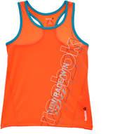 Reebok Girls' Orange Race Run Win Tank