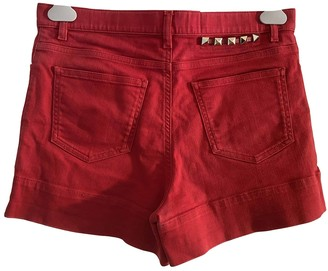 Valentino Red Denim - Jeans Shorts for Women