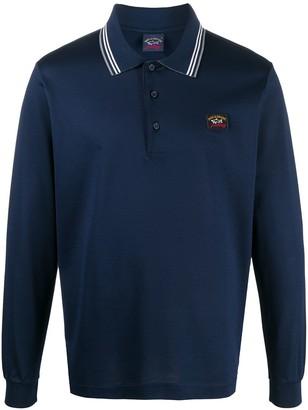 Paul & Shark Long-Sleeve Polo Shirt