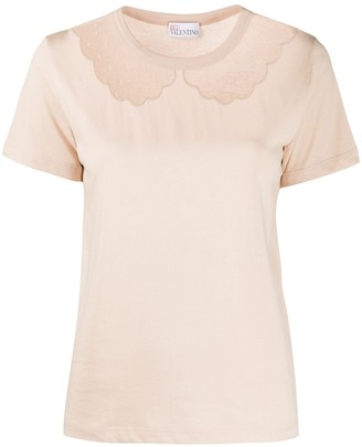 RED Valentino tulle insert T-shirt