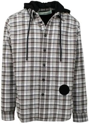 Off-White Off White Grey Cotton Jackets