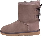 UGG Girls Bailey Bow Boots Stormy Grey