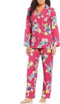 Lauren Ralph Lauren Floral Brushed Twill Pajamas