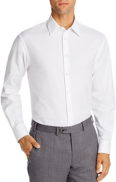Giorgio Armani Emporio Textured Regular Fit Dress Shirt