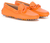 Tod's Kids - slip-on loafers - kids - Leather/rubber - 28