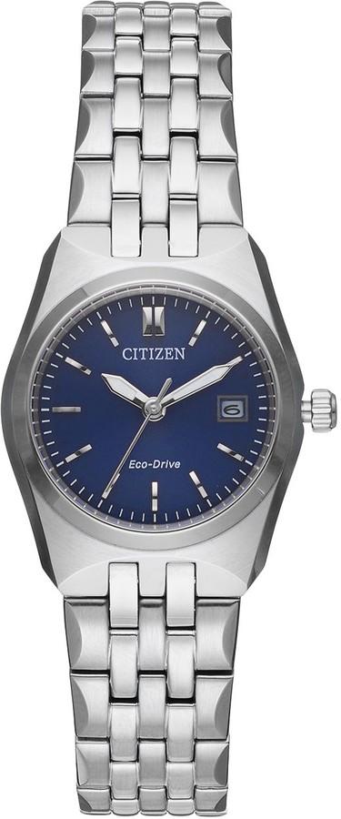 Citizen Eco-Drive Women's Corso Stainless Steel Watch - EW2290-54L