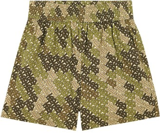 Burberry Monogram Print shorts
