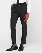 Express Slim Black Performance Tech Suit Pant