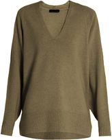 The Row Jabbie wool and cashmere-blend sweater